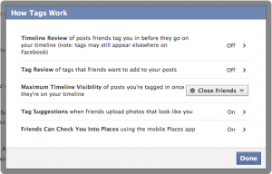Facebook Privacy Tagging
