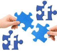 Facebook Puzzle Pieces