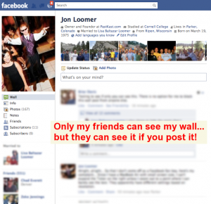 Facebook Wall Privacy