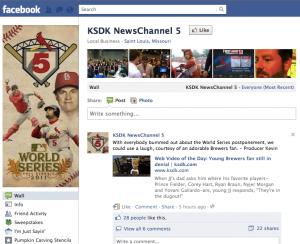 KSDK Facebook Page