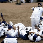 Prince Fielder Bowling Ball Celebration