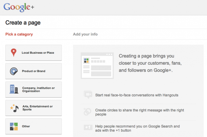 How to Create a Google Plus Page for Business