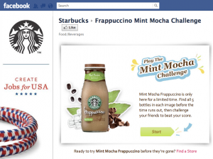 starbucks 300x224 How to be Strategic with your Facebook Page