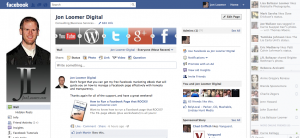 Facebook Page and Ticker