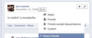 2008 Facebook Status Update
