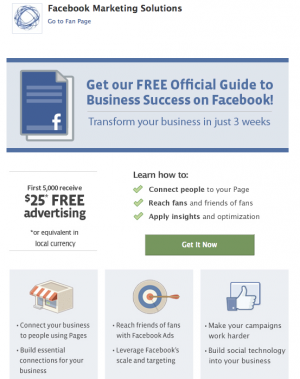 Free $25 Facebook Ad Coupon