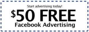 Facebook Ad Coupon