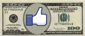 Facebook Dollar Bill