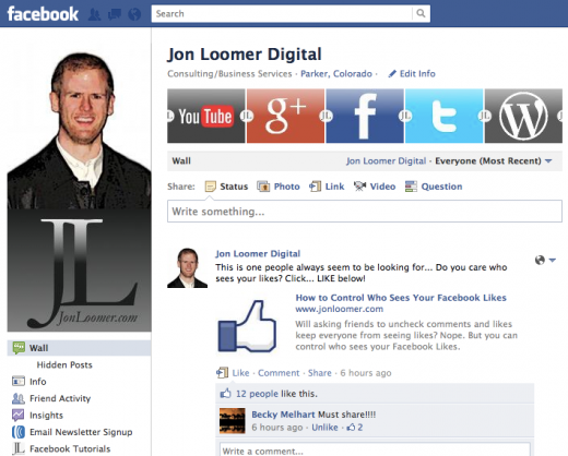 Jon Loomer Digital on Facebook