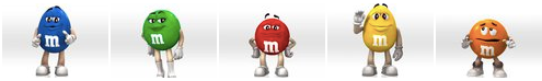M&Ms Facebook Page Photo Strip