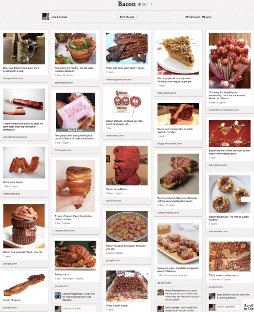 Pinterest Bacon