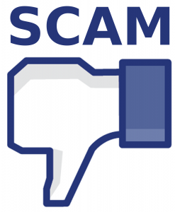 scam 247x300 How to Spot a Facebook Hoax (And What to Do)