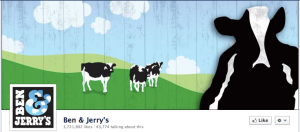 Ben & Jerry's Facebook Cover Photo