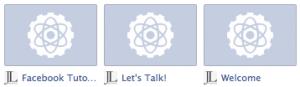 Facebook Tab Logos Timeline