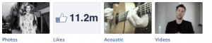 Burberry Facebook Tabs