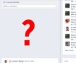 Facebook Timeline Empty Spaces