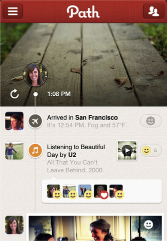 Is Path Taking the Path Facebook Had Envisioned?
