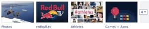 Red Bull Facebook Tab