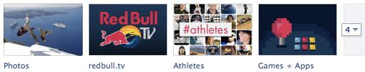 Red Bull Facebook Tabs