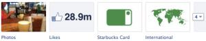 Starbucks Facebook Tabs