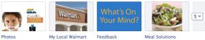 Walmart Facebook Tabs