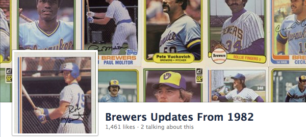 Brewers Updates From 1982 Cover Photo
