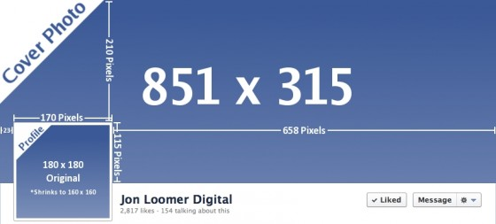 New Facebook Profile Photo Cover Photo Dimensions