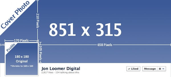 Facebook Timeline Dimensions New Profile Photo