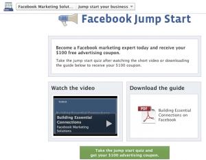 Facebook Jump Start