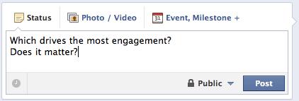 Facebook Status Update Photo Video