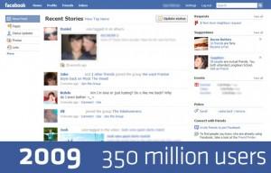 Facebook Design 2009