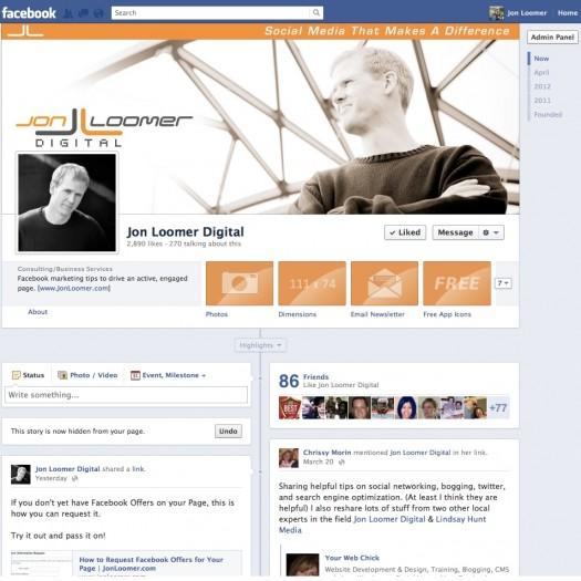 Facebook Design 2012