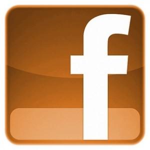 Facebook Logo Orange