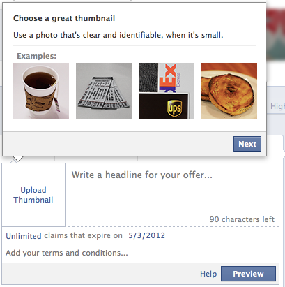 How to Create Facebook Offers