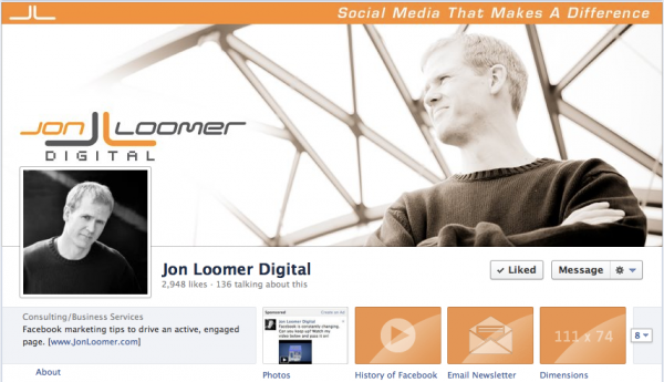 Jon Loomer Digital Facebook Timeline