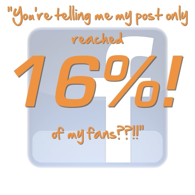 Your Facebook Posts Reach 16% of Fans… THE HORROR!