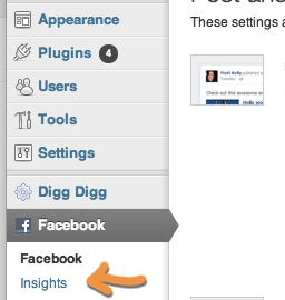 Facebook for WordPress Plugin Insights