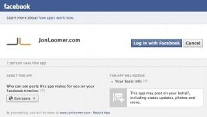 Facebook Install Social Reading