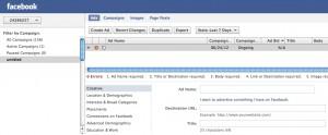 Facebook Power Editor Create Ad