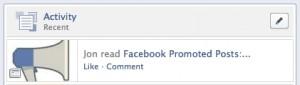 Facebook Social Reader Activity