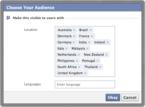 facebook targeting What Facebook Needs: Lists for Pages