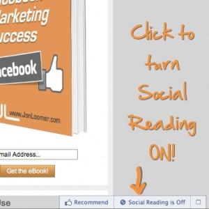 Facebook Social Reading
