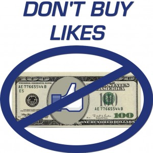 Don't Buy Facebook Likes
