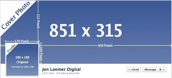 facebook timeline cover photo dimensions 600x272 Facebook Timeline Dimensions: Another Change