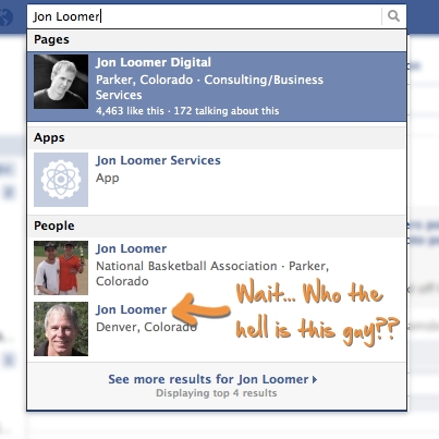 Facebook Search Typehead