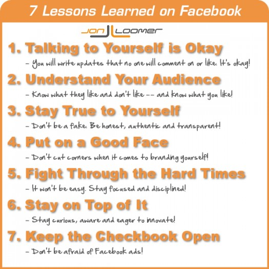 A Personal Look Back: 7 Lessons Learned on Facebook [Part 2]