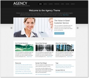 Agency Genesis Framework Child Theme