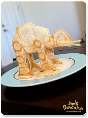 Jim's Pancakes Star Wars