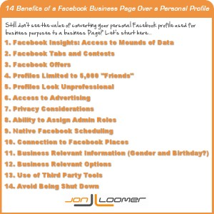 Benefits of a Facebook Business Page Over a Personal Profile