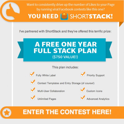 ShortStack Contest